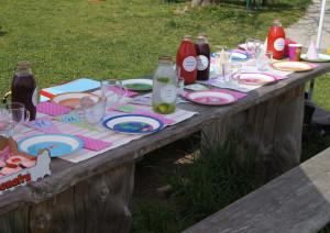 Erster Käfergeburtstag Tisch