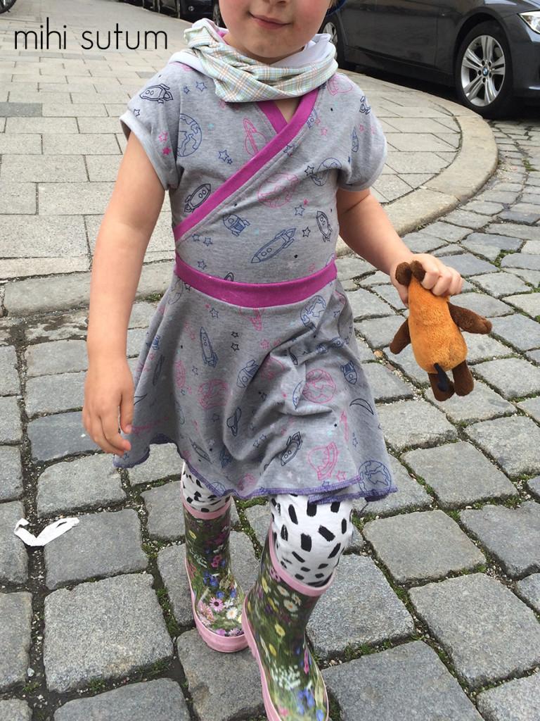 Wickelkleid unterwegs