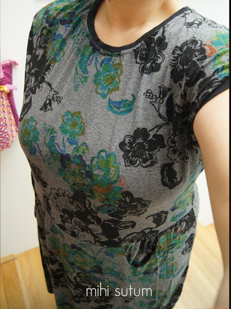 Kleid Stoff