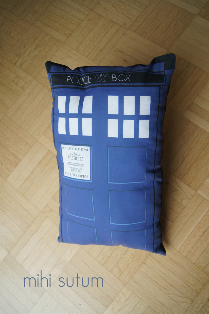 Blue Box Pillow